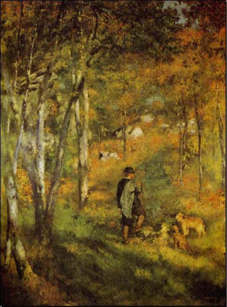 Dans l'atelier de Charles Gleyre, il rencontre Monet, Bazille et Sisley, où se rendaient-ils souvent ensemble pour peindre ?