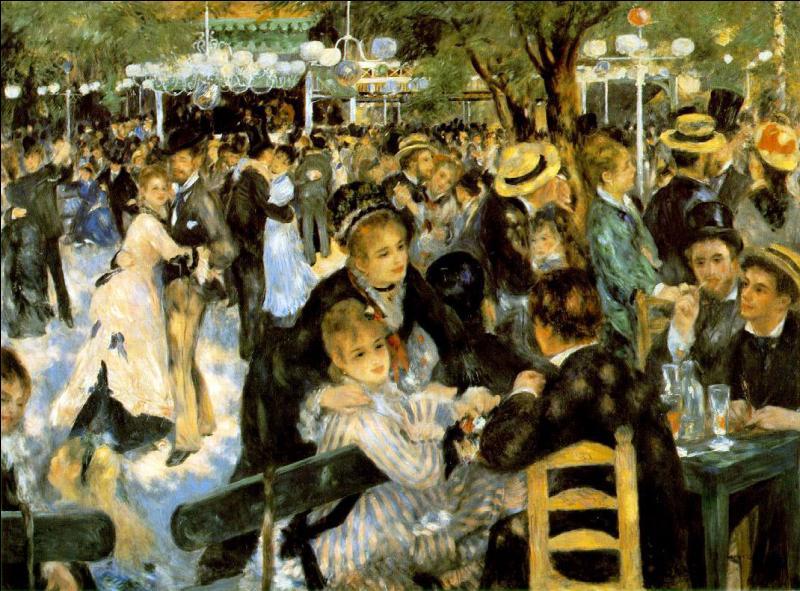 """En 1877, il réalise une de ses oeuvres les plus connues, """"Le Bal du moulin de la Galette"""", qui acheta ce tableau ?"""