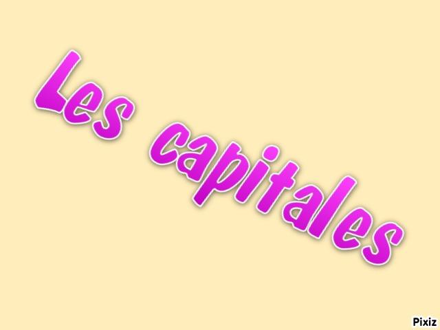 Les capitales d'Europe