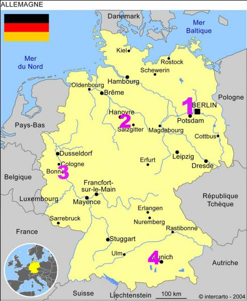 Où se trouvait la capitale de l'Allemagne fédérale avant la réunification ?