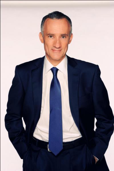 Il présente le journal sur TF1. Qui est-ce ?