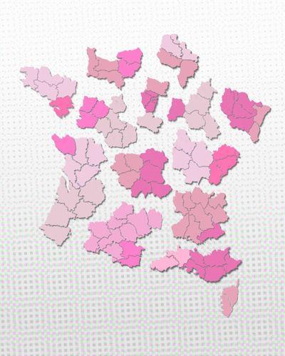 Nouvelles régions de France (Hé, hé ! )