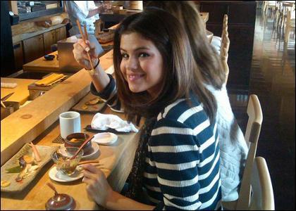 Quel est le plat préféré de Selena ?