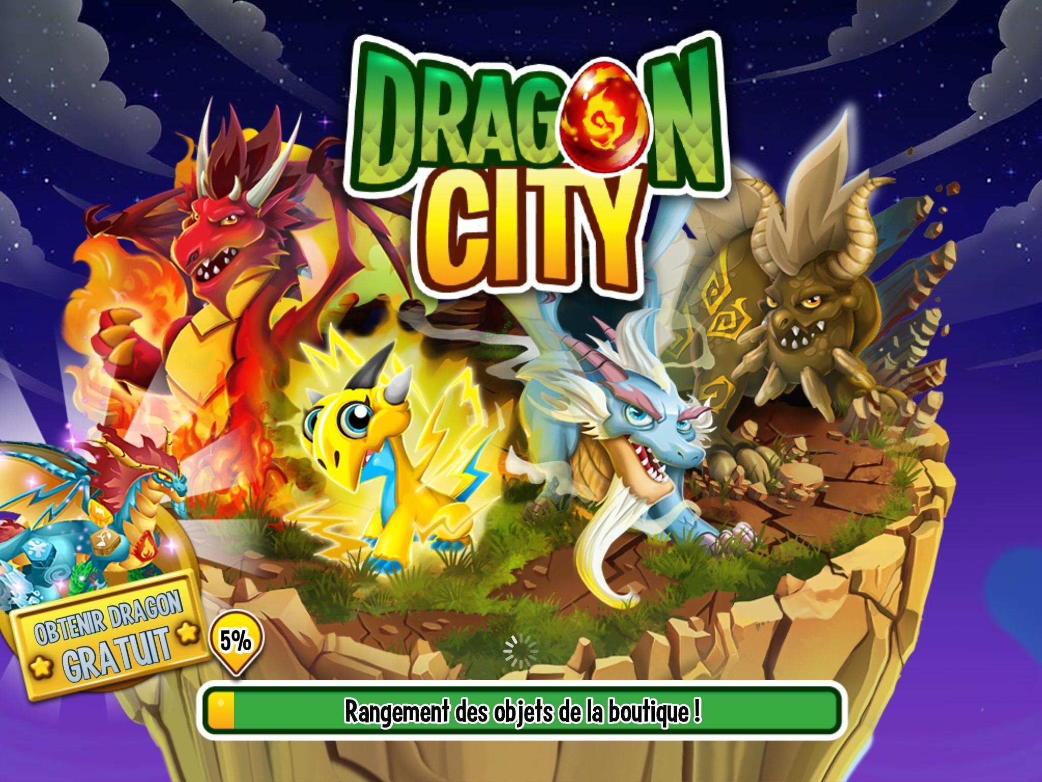 Dragon City : les dragons