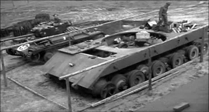 Quel était le projet de char mégalomane du IIIe Reich qui aurait pesé plus de 140 tonnes une fois terminé, dont seul un châssis fut achevé à la fin de la guerre ? (voir photo)