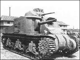 Quel était le nom de ce char américain, ayant la particularité de posséder deux postes de tir, un dans une tourelle, et un autre plus bas avec un canon semi-mobile ?