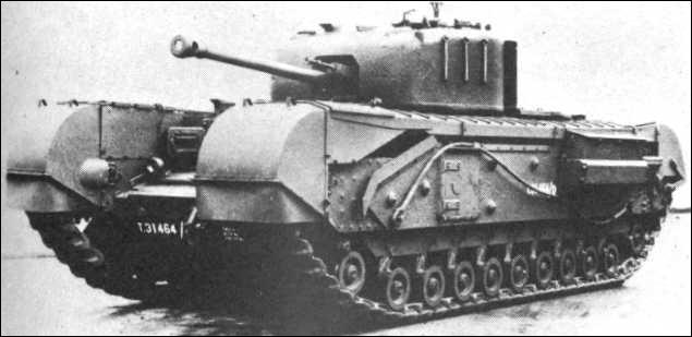 """Quel char britannique, une fois équipé d'un lance-flamme, était appelé """"crocodile"""" ?"""
