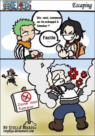 Comment Ace a-t-il échappé à Smoker ?