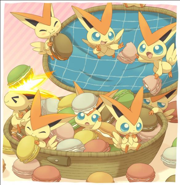 Qui sont ces Pokémon fans de macarons ?