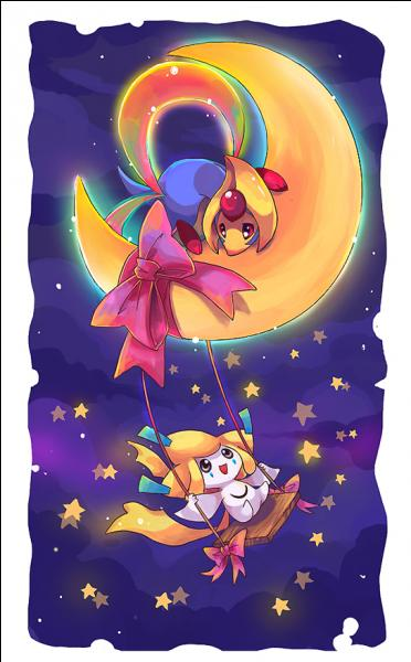 Qui est le Pokémon sur le croissant de lune ?