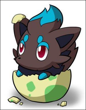 Quel est le nom de cet adorable Pokémon Shiney ?