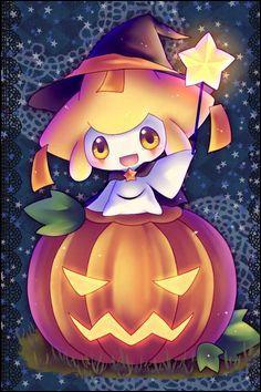 Qui est ce Pokémon fêtant Halloween ?