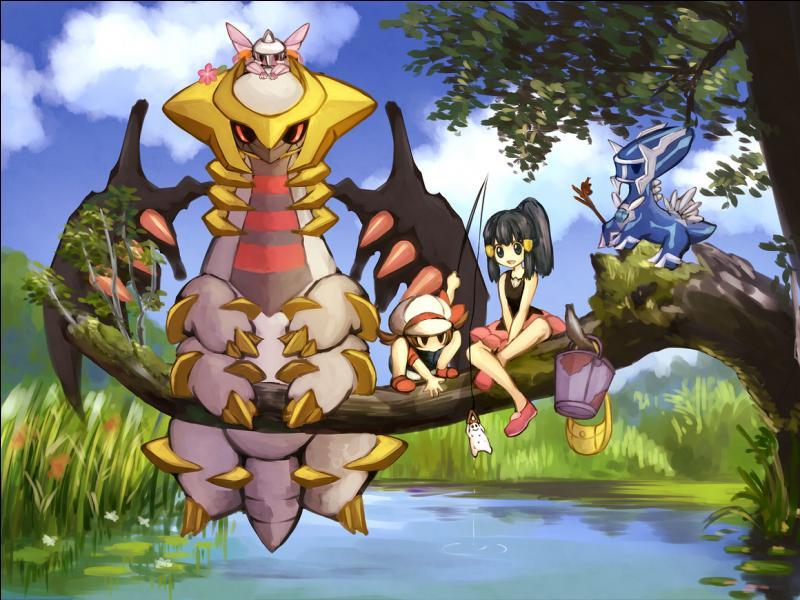 Qui sont les Pokémon présents sur cette photo ?