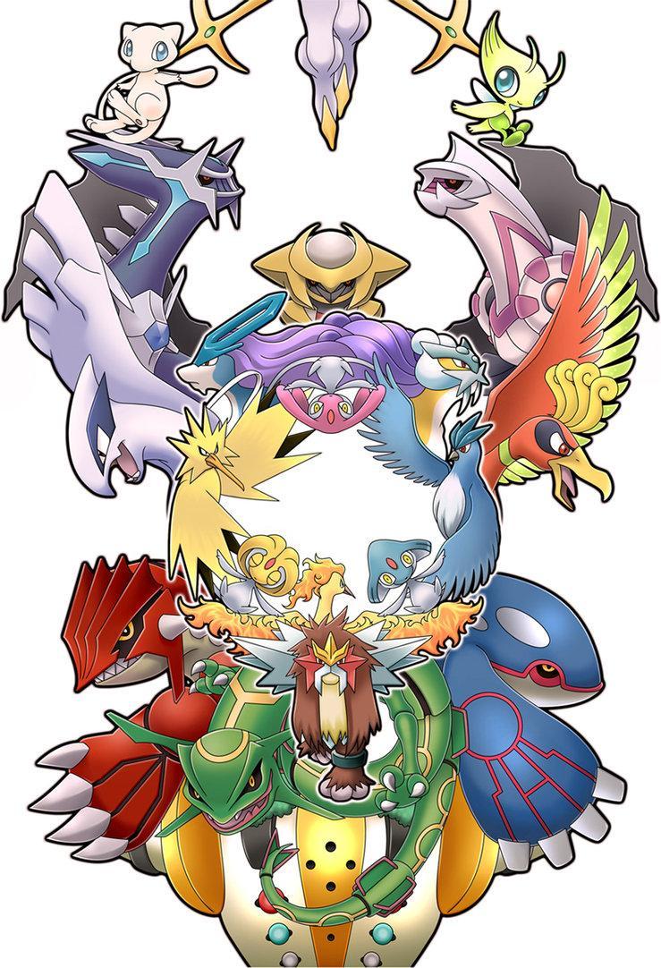 Les Pokémon légendaires