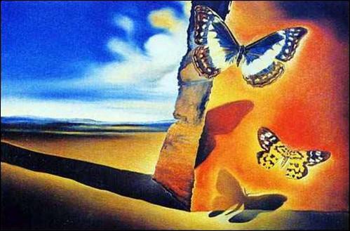 """Quel écrivain français, à qui l'on doit aussi """"Les Filles du feu"""", est l'auteur du joli poème intitulé """"Les papillons"""", extrait du recueil """"Petits châteaux de Bohême"""" ?"""