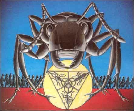 """Qui est l'auteur de """"Fourmis"""", premier tome d'une trilogie relatant les aventures d'humains et de fourmis ?"""