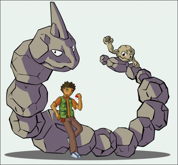 Pierre le maître des Pokémon Roches. De quelle arène est-il le champion ?