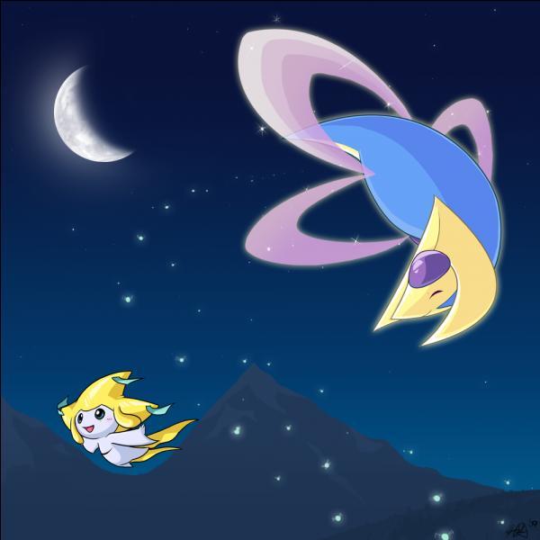 Lequel de ces deux Pokémon légendaires est le Pokémon lunaire ?