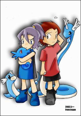 Sandra élève des Pokémon de type Dragon à Johto. De quelle arène est-elle la championne ?
