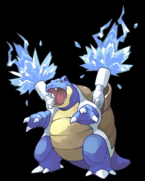 """Sur quel jeu """"Pokémon"""" l'imposant Tortank est-il représenté sur la jaquette ?"""