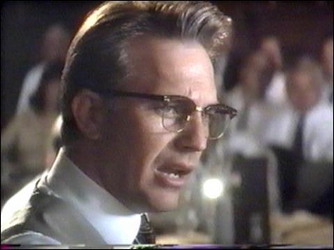 Quel personnage réel a interprété Kevin Costner?