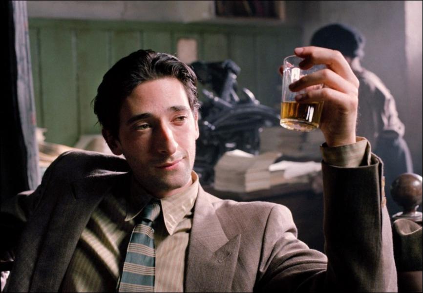 Quel personnage réel a interprété Adrien Brody dans 'Le pianiste'?
