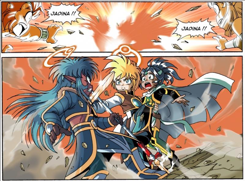 Pourquoi Danaël sauvera-t-il Jadina d'une attaque d'Halcyon ?