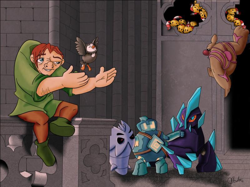 Parmi ces Pokémon, lesquels tiennent compagnie à Quasimodo le Bossu de Notre-Dame ? (3 réponses)
