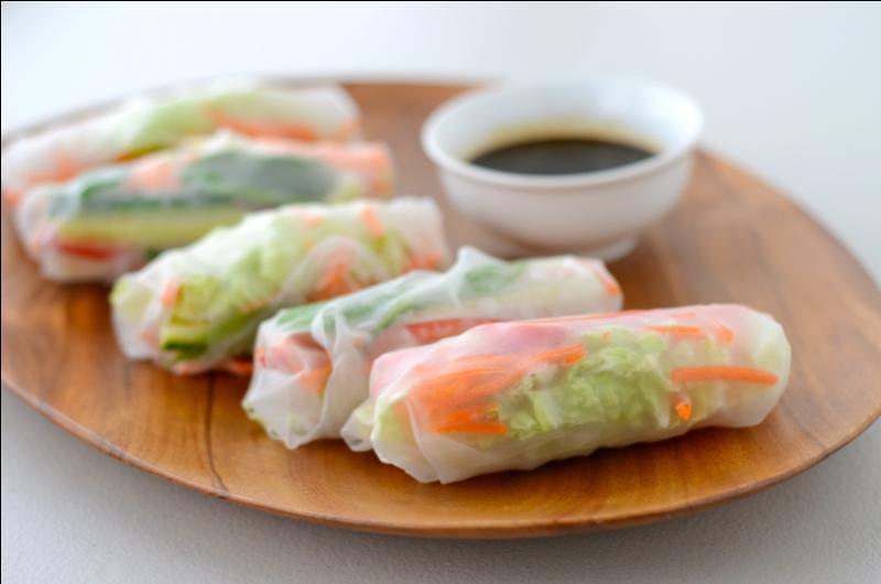 """Que sont les """"spring rolls"""" dans la nourriture asiatique?"""