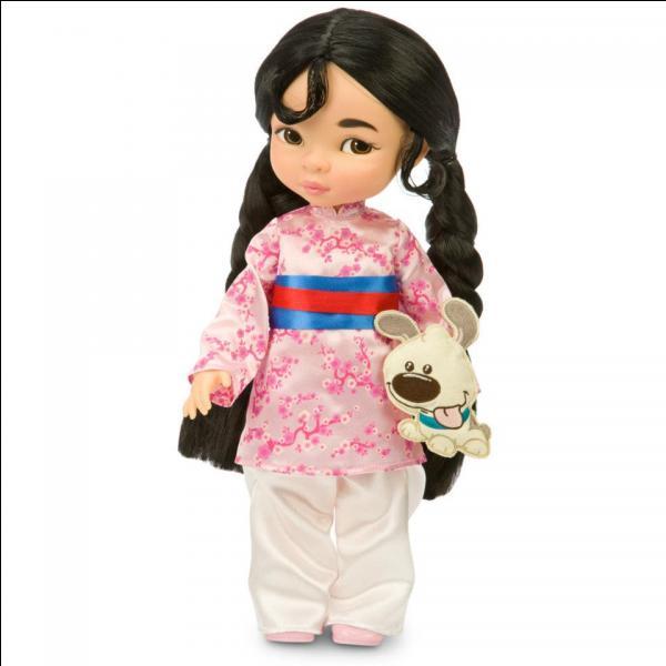 Quel est le nom de cette princesse chinoise qui s'en va en guerre déguisée en homme ?