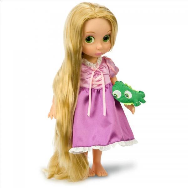 Comment se prénomme cette princesse dont la chevelure en dit long ?