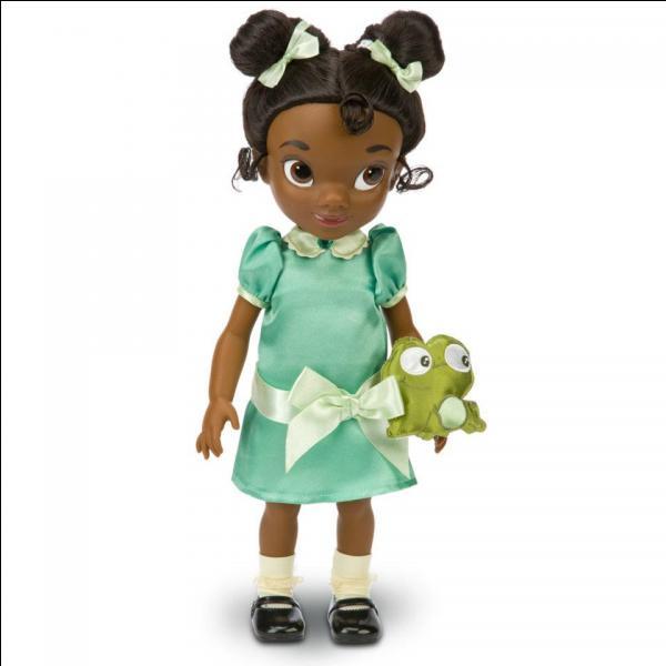 Comment se nomme cette future princesse qui a été transformée en grenouille par erreur ?