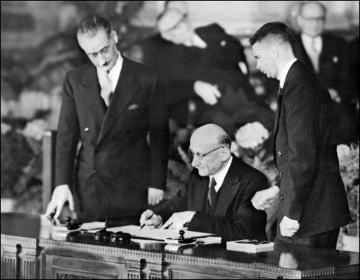 Quand le Conseil de l'Europe est-il fondé par le Traité de Londres?