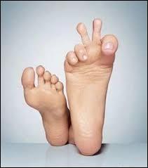 Le pied, se dit en espagnol ...