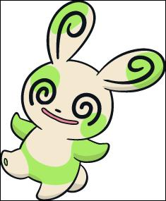 Voici un Spinda Shiney. Quelle est la couleur des taches de ce petit Pokémon habituellement ?