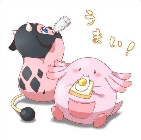 Le voici en bonne compagnie. Quel est le point commun entre ces deux Pokémon ?