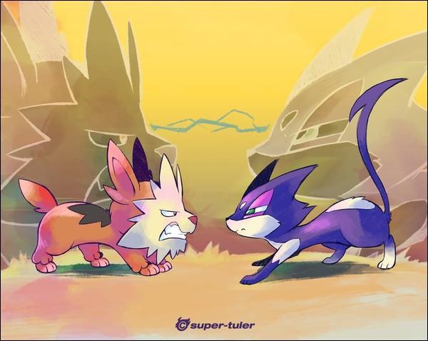 Voici Chacripan, nous nous entendons comme chien et chat. Dans quelle région vivons-nous ?