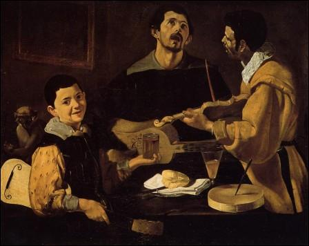 Trois musiciens.
