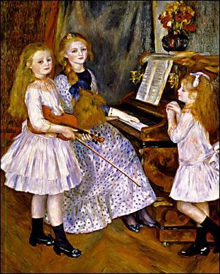 Les 3 filles de Catulle Mendès set Augusta Holmès.