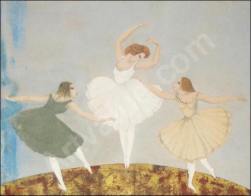 Les 3 danseuses.