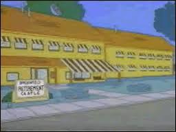 Quel est ce lieu secondaire des Simpson ?