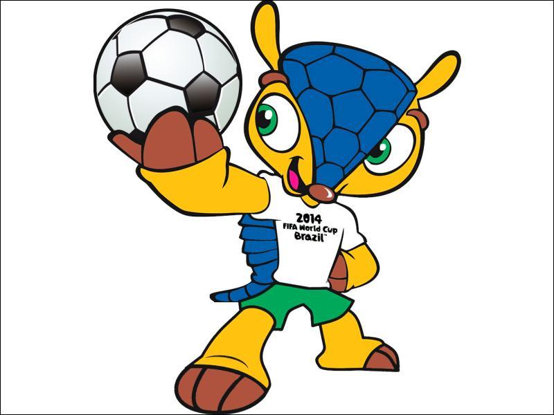 Quelle est la mascotte officielle de la Coupe du monde 2014 ?