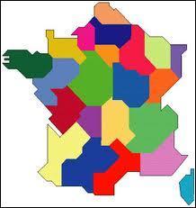 Quelle est la région juste à côté de l'Alsace, à l'ouest ?