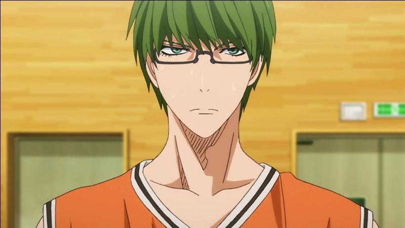 Numéro 6 de l'équipe de Shutoku et ancien joueur du collège Teiko. Qui est-il ?