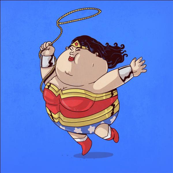 Elle a des supers pouvoirs, elle peut dilater son estomac à volonté !