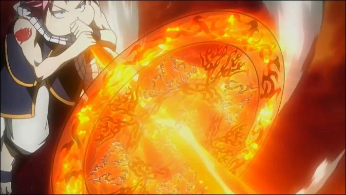 Quelle est la toute première attaque de Natsu que l'on voit ? (épisode 1)