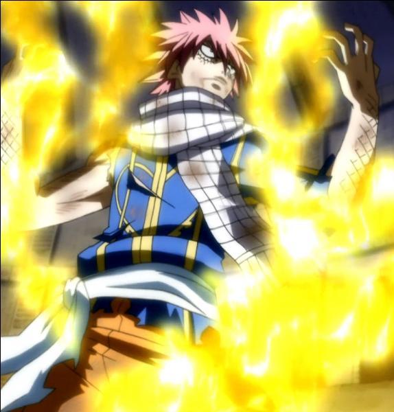 Avec quelle technique Natsu bat-il Zéro ?