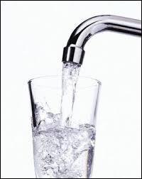 L'eau du robinet provient :