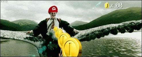 Harry Potter déguisé en Mario, en voilà une bonne idée ! De quel film cette scène est-elle tirée (avant qu'elle ne soit parodiée) ?