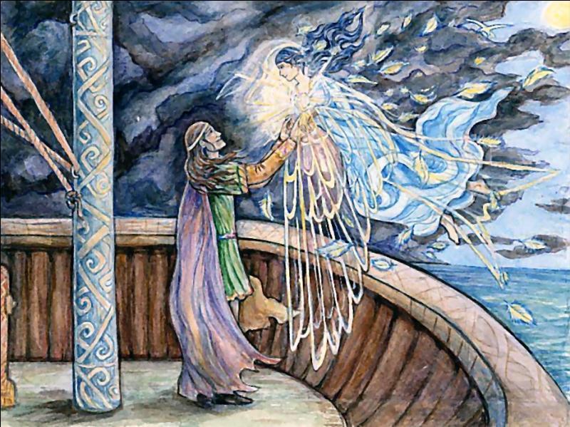 Quel fut le nom du bateau d'Eärendil et d'Elwing ?